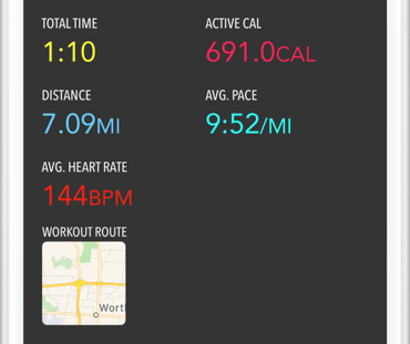 Intervals - iPhone and Apple Watch interval training at its best